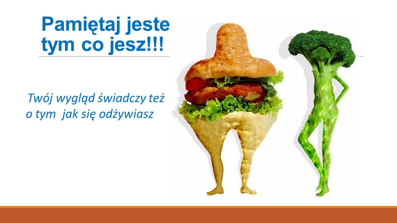 Pamiętaj jesteś tym co jesz!!!
