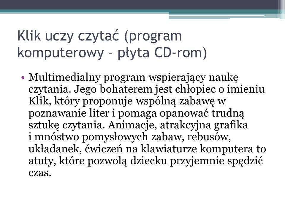 Klik uczy czytać (program komputerowy – płyta CD-rom)