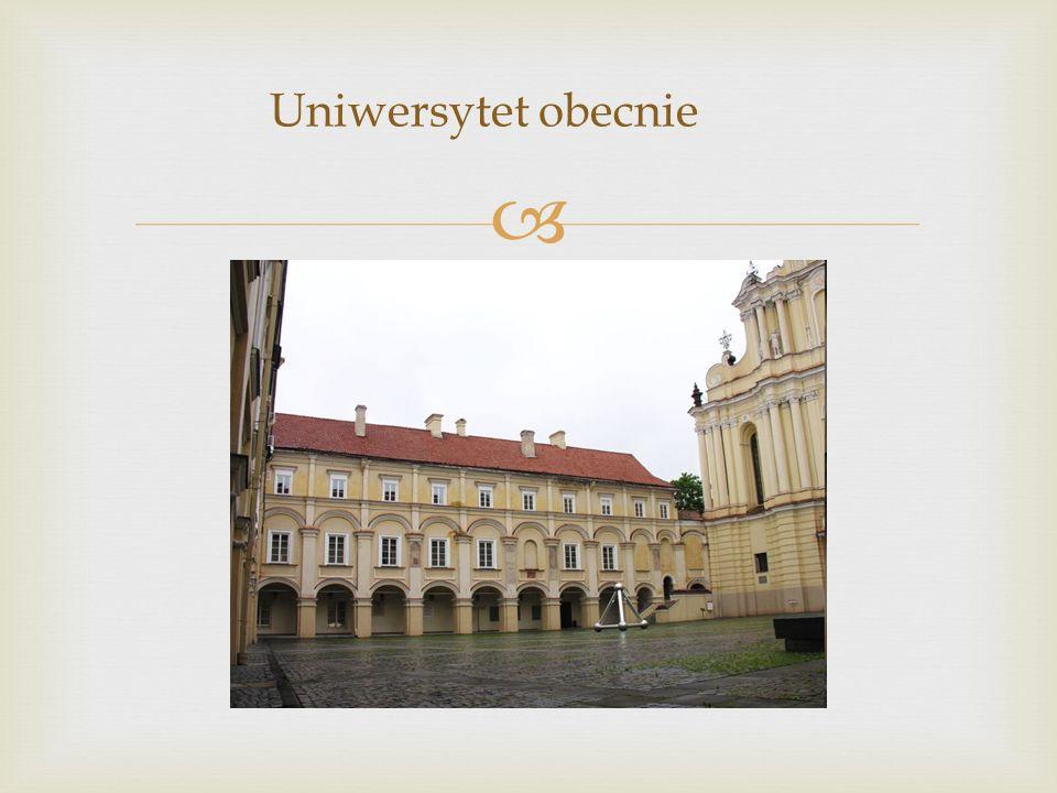 Uniwersytet obecnie