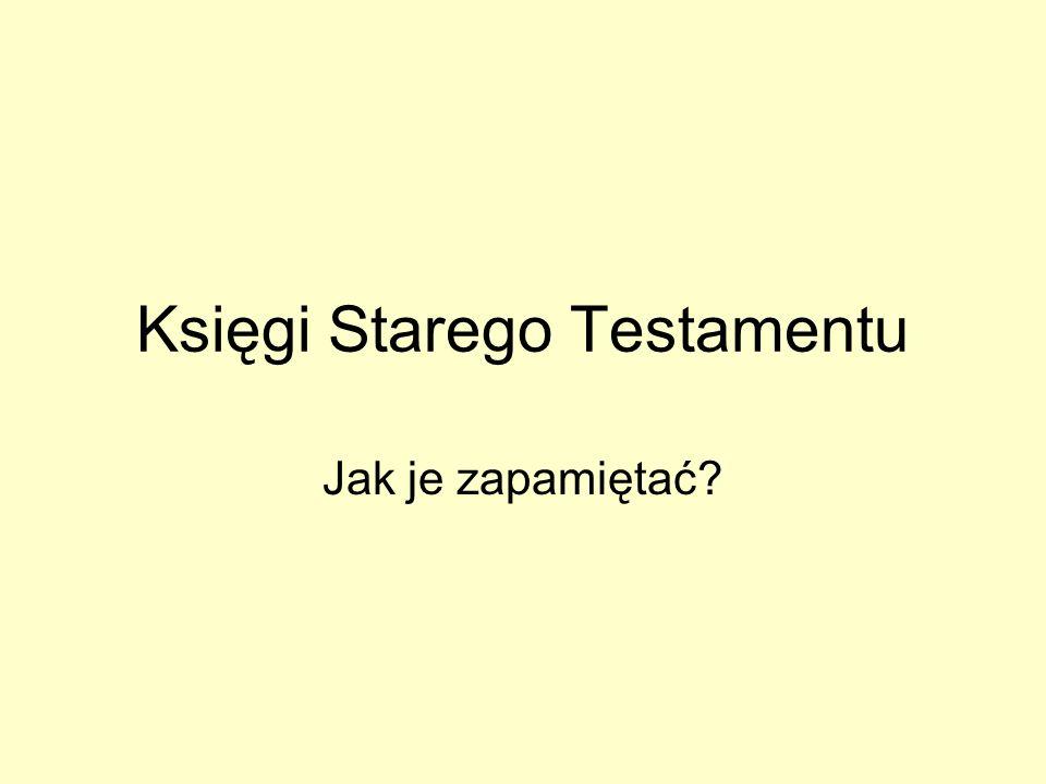 Księgi Starego Testamentu