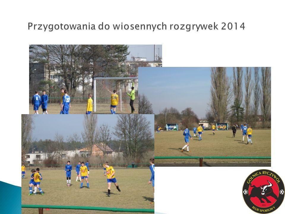 Przygotowania do wiosennych rozgrywek 2014