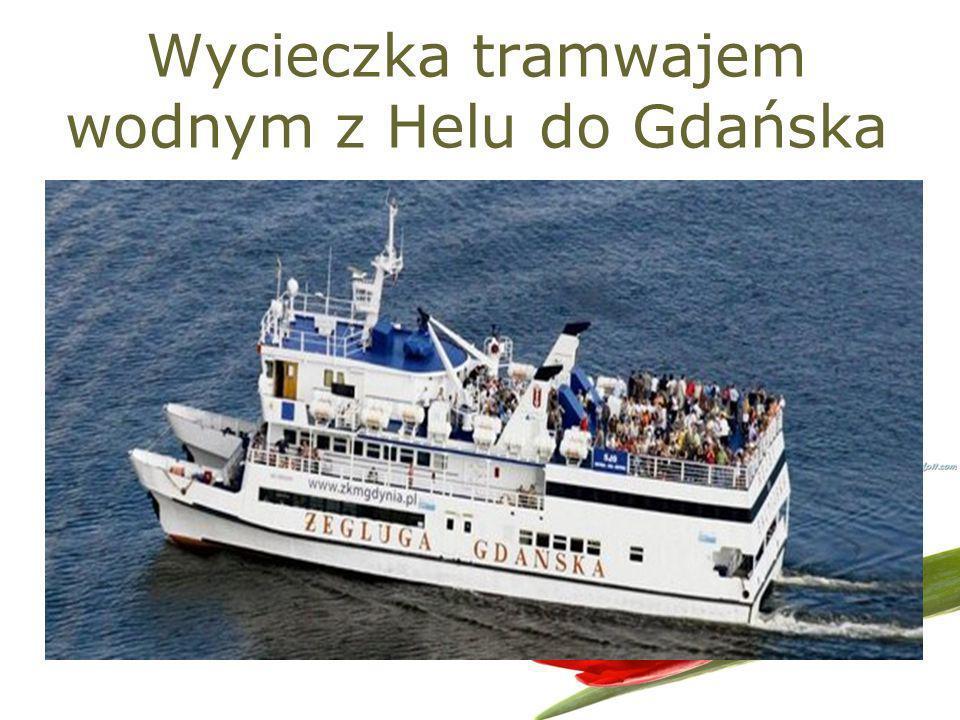 Wycieczka tramwajem wodnym z Helu do Gdańska
