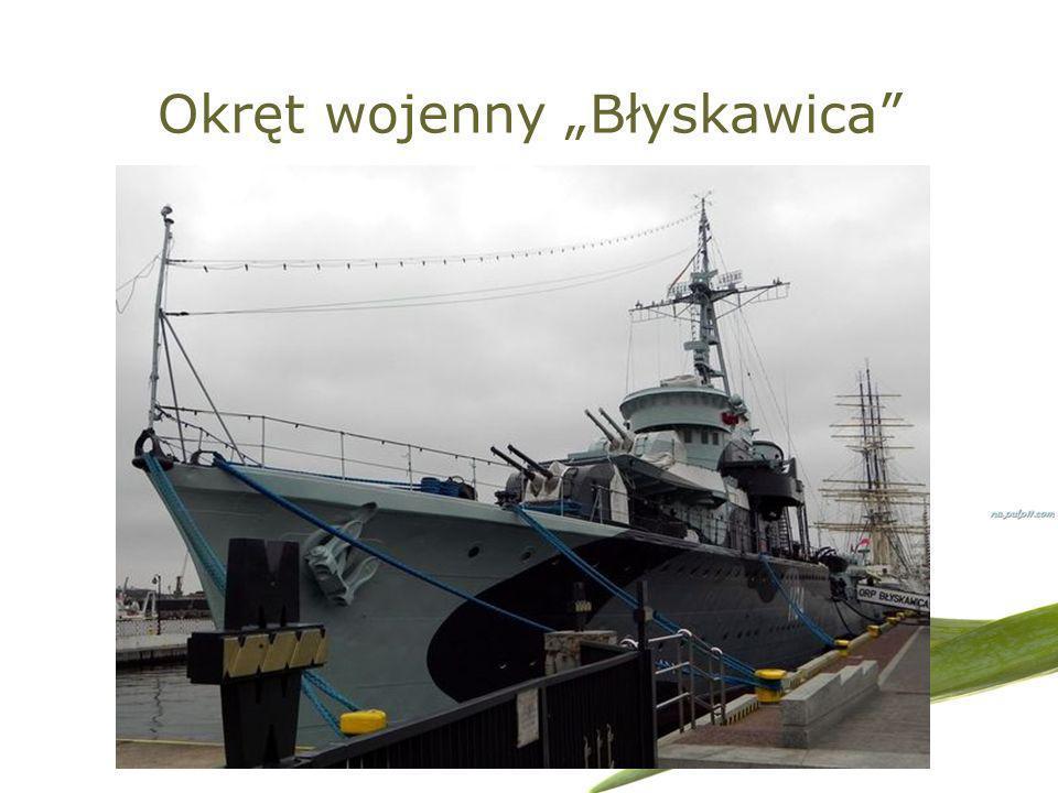 """Okręt wojenny """"Błyskawica"""