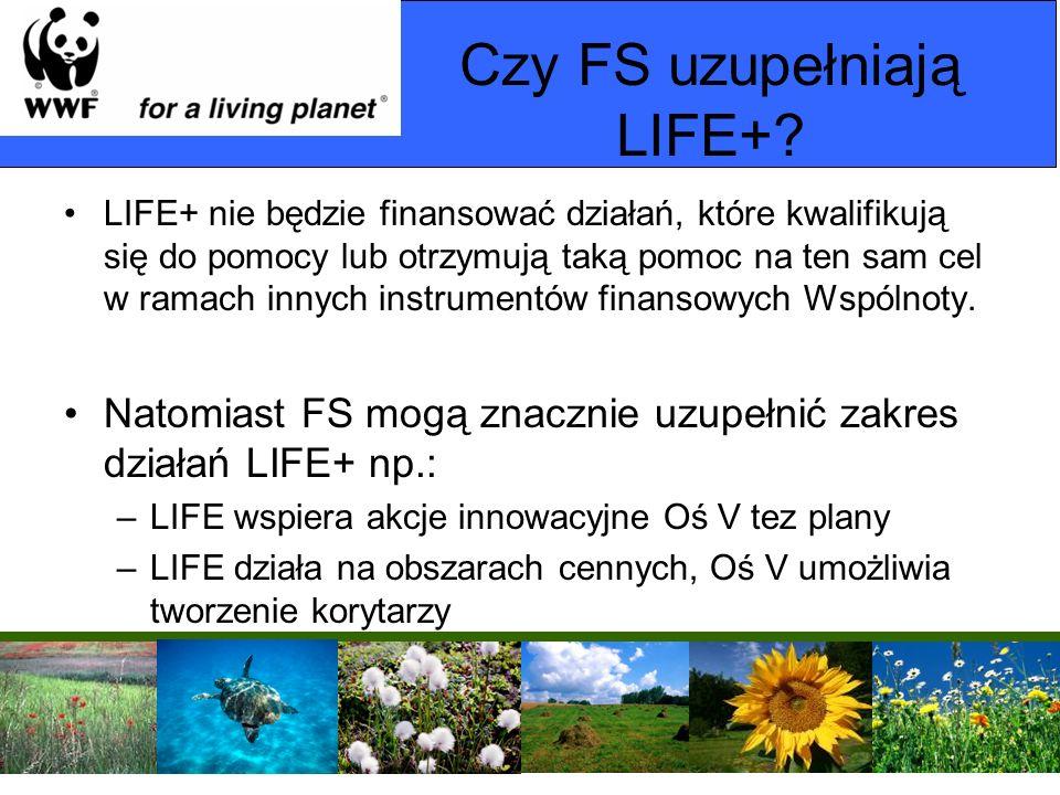 Czy FS uzupełniają LIFE+