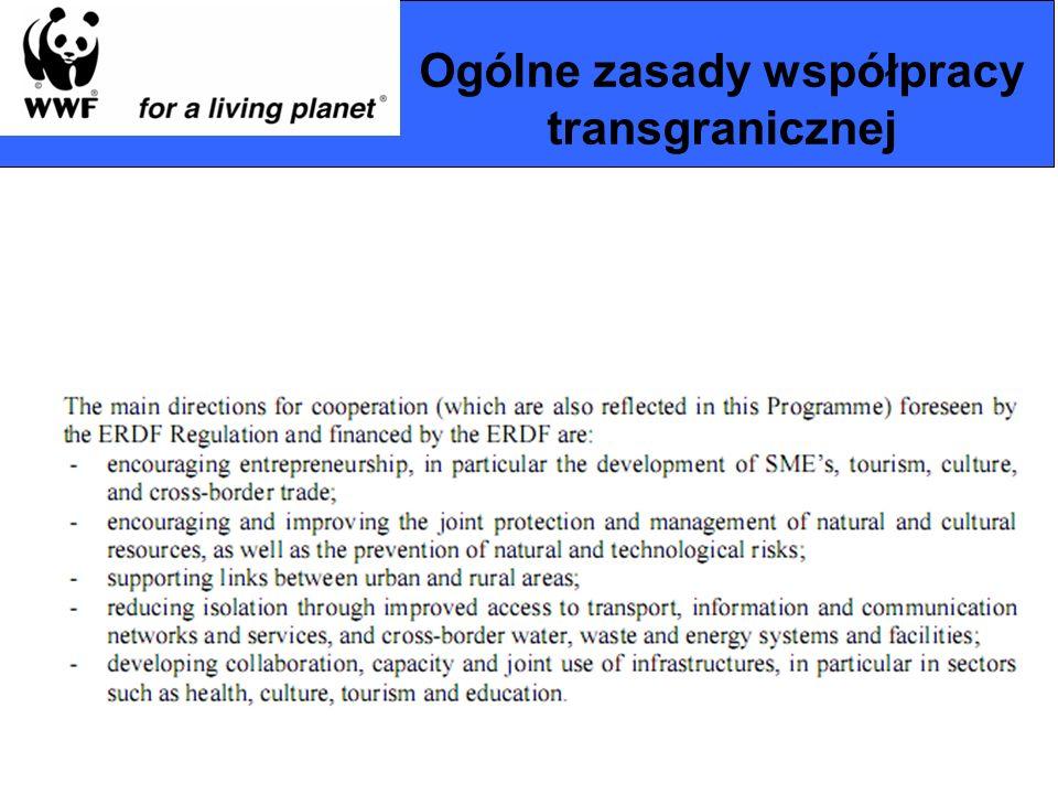 Ogólne zasady współpracy transgranicznej