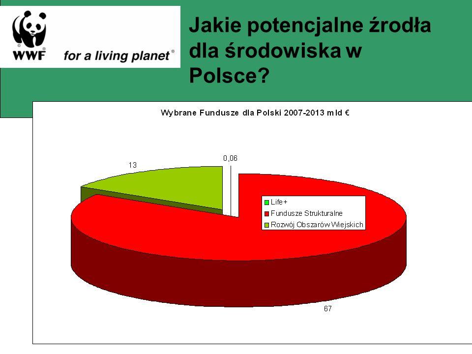 Jakie potencjalne źrodła dla środowiska w Polsce
