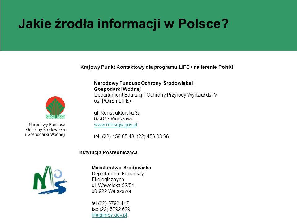 Jakie źrodła informacji w Polsce