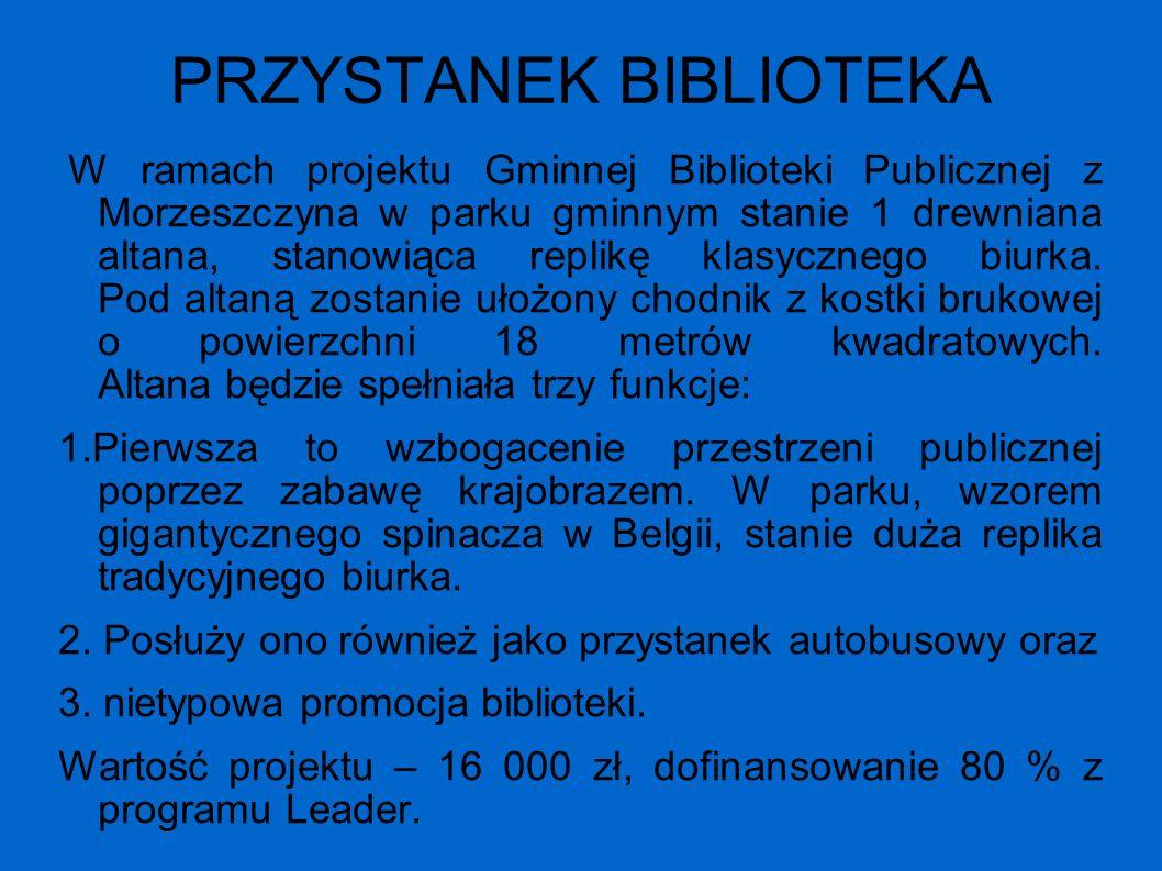 PRZYSTANEK BIBLIOTEKA