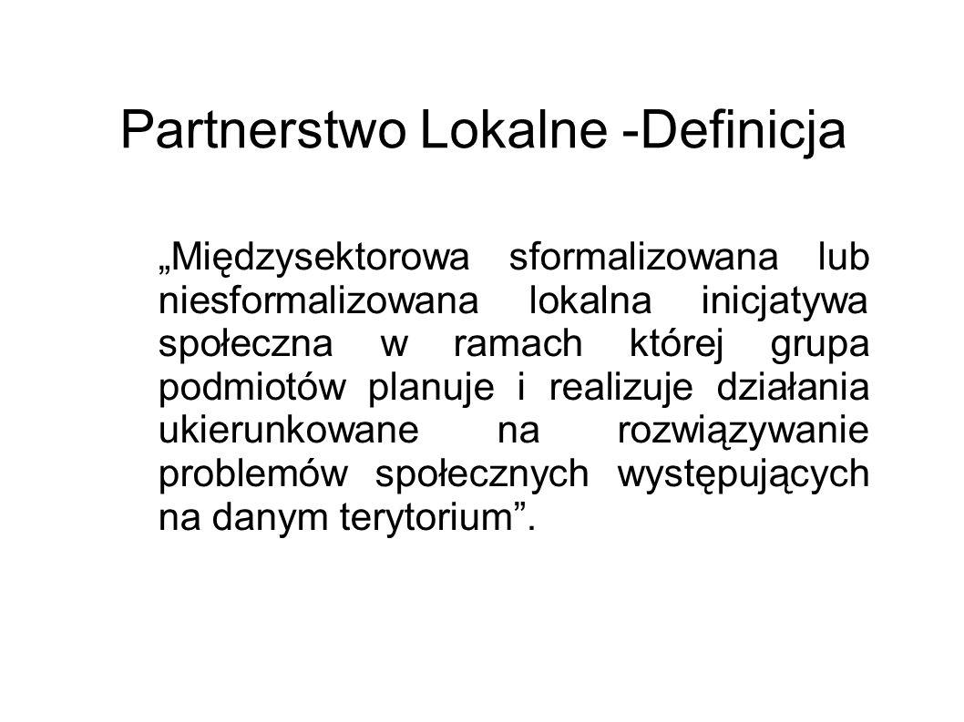 Partnerstwo Lokalne -Definicja