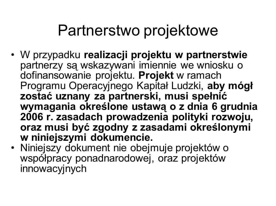 Partnerstwo projektowe