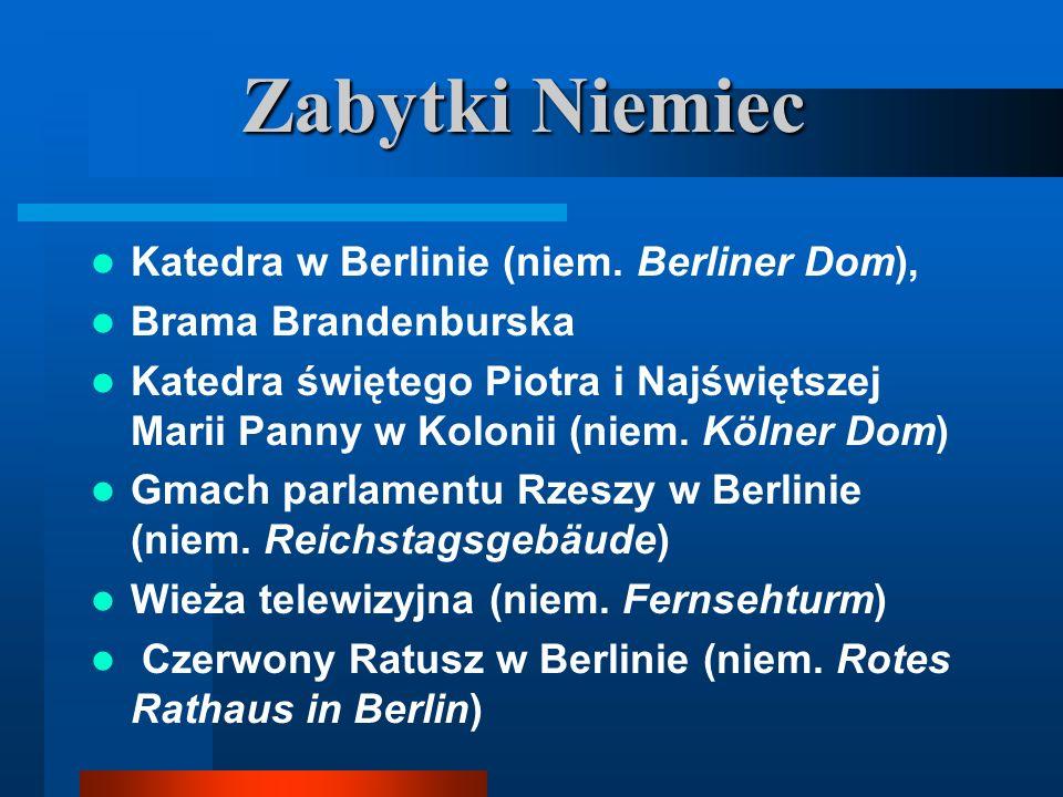Zabytki Niemiec Katedra w Berlinie (niem. Berliner Dom),
