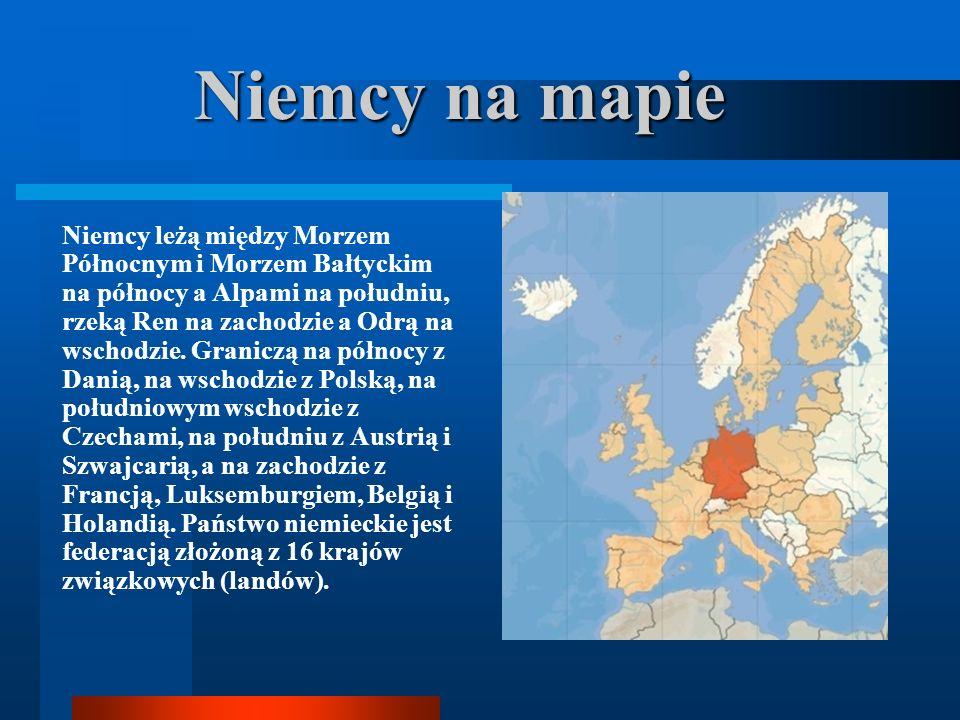 Niemcy na mapie