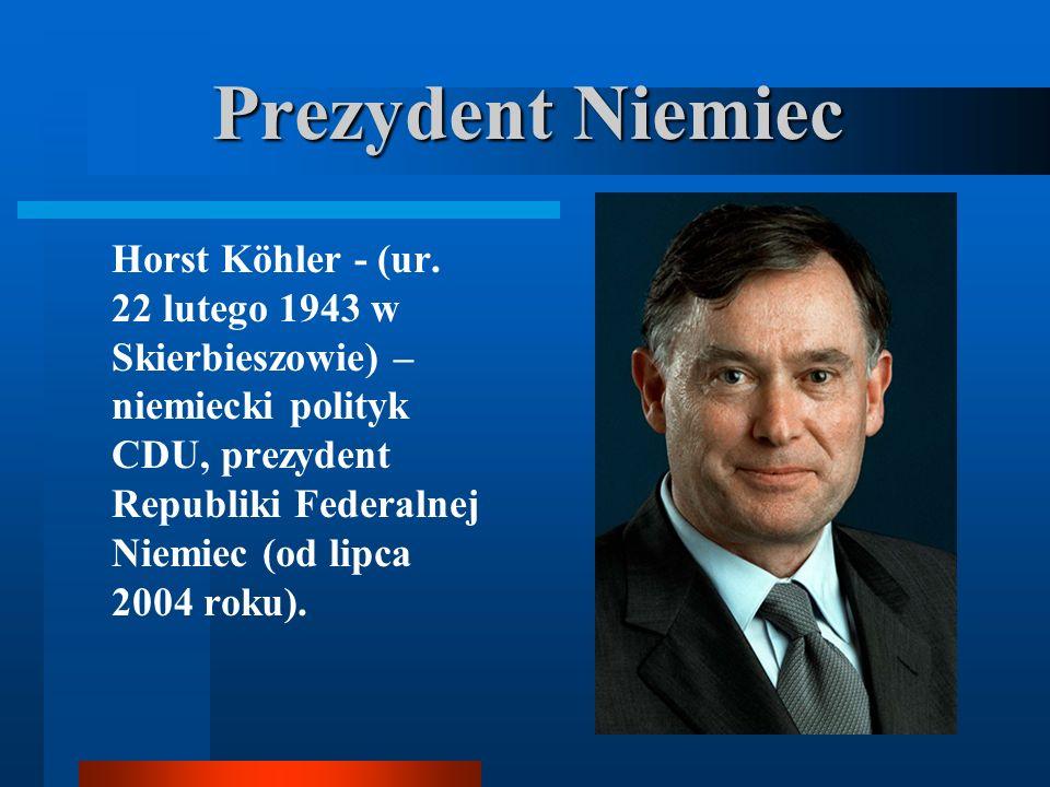 Prezydent Niemiec