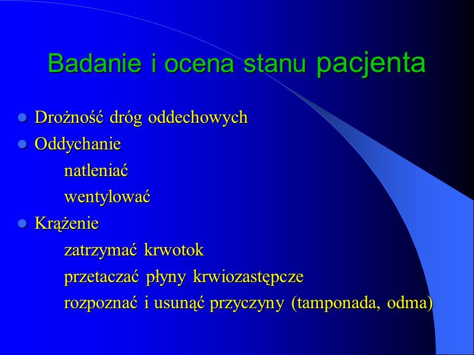 Badanie i ocena stanu pacjenta