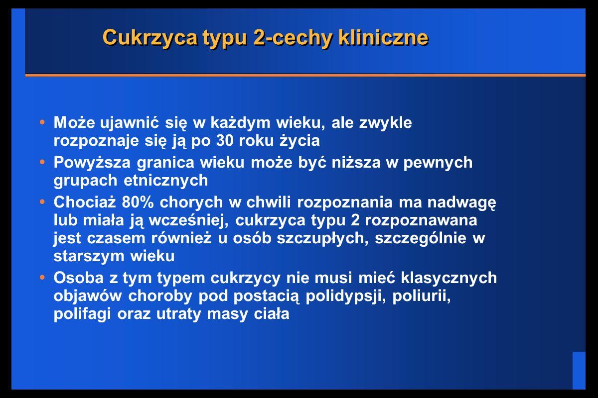 Cukrzyca typu 2-cechy kliniczne