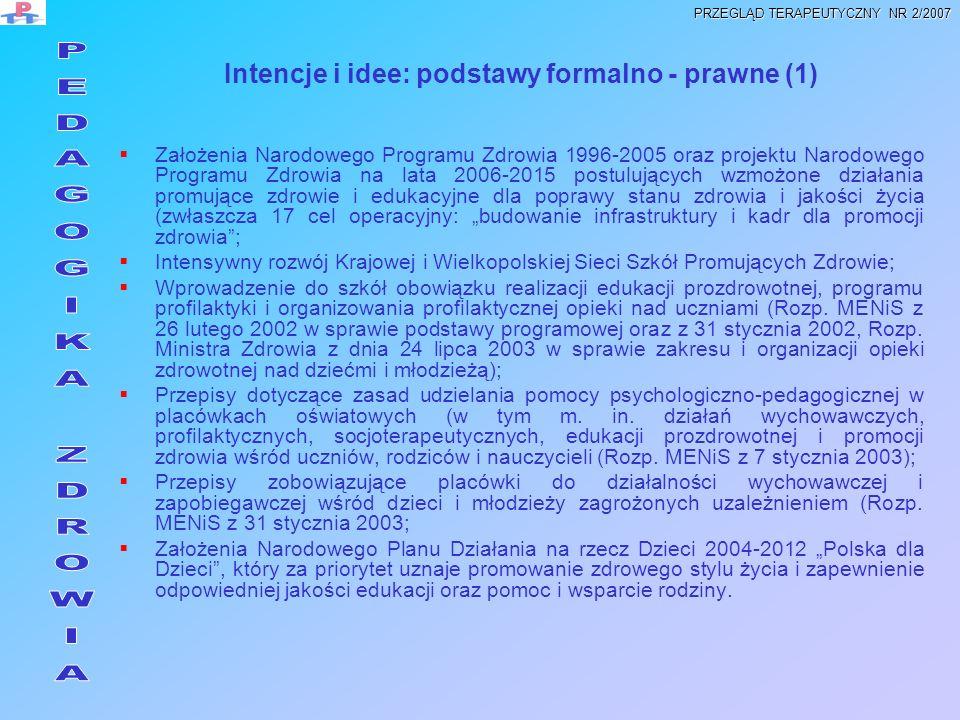 Intencje i idee: podstawy formalno - prawne (1)