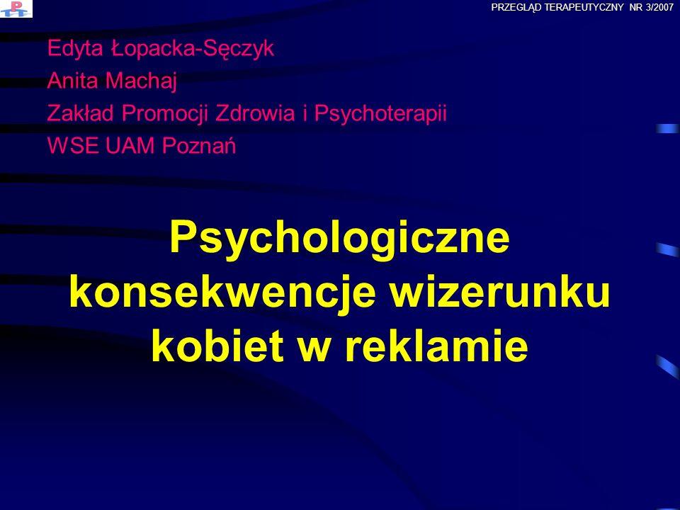 Psychologiczne konsekwencje wizerunku kobiet w reklamie
