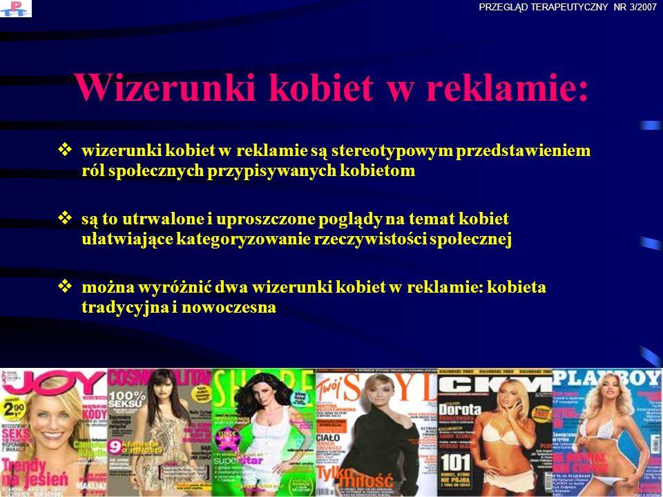Wizerunki kobiet w reklamie: