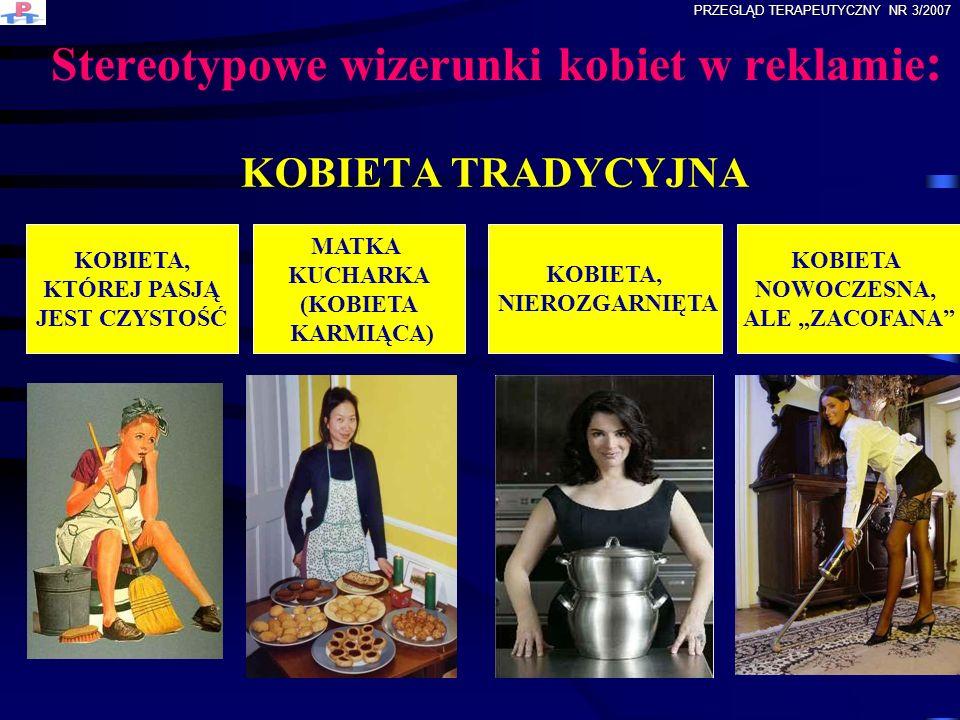 Stereotypowe wizerunki kobiet w reklamie: