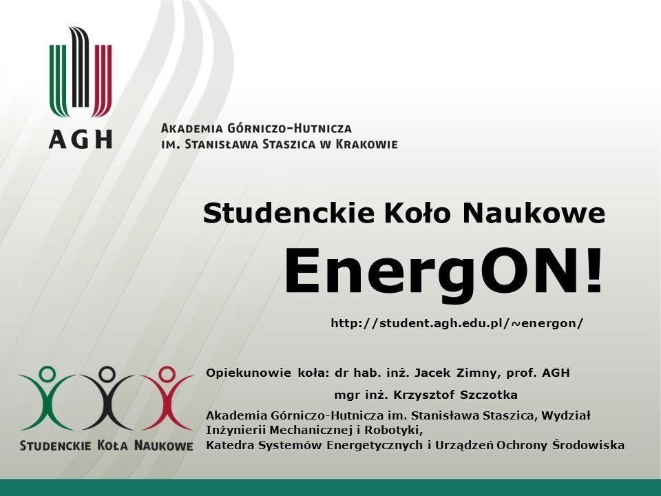 Studenckie Koło Naukowe EnergON!