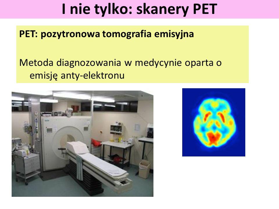 I nie tylko: skanery PET