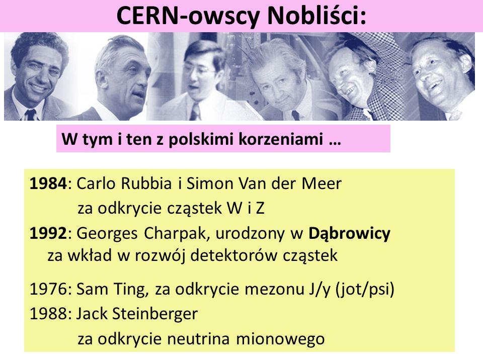 CERN-owscy Nobliści: W tym i ten z polskimi korzeniami …