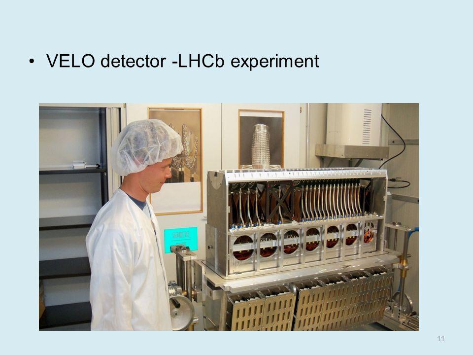 VELO detector -LHCb experiment