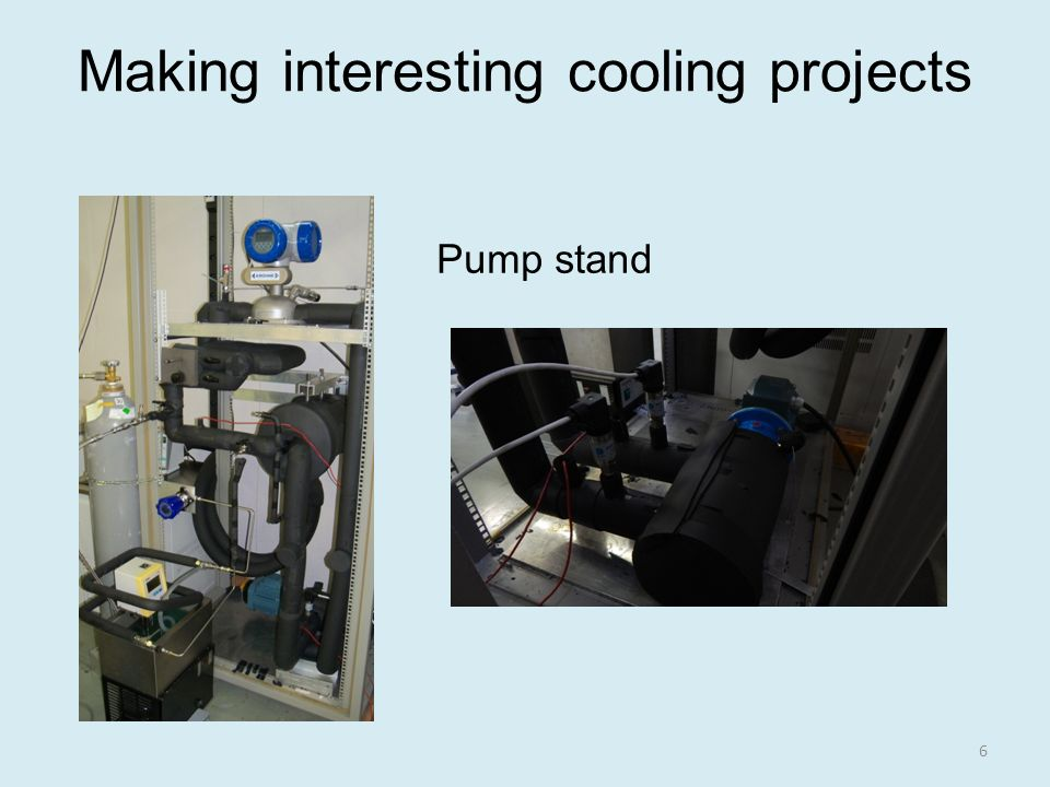 Making interesting cooling projects