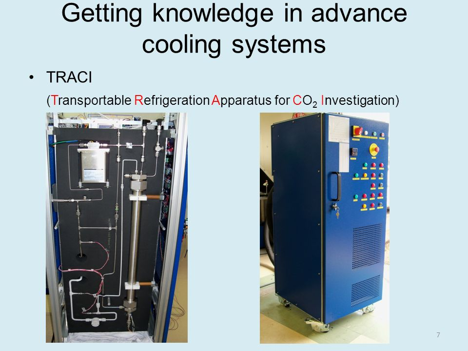 Getting knowledge in advance cooling systems