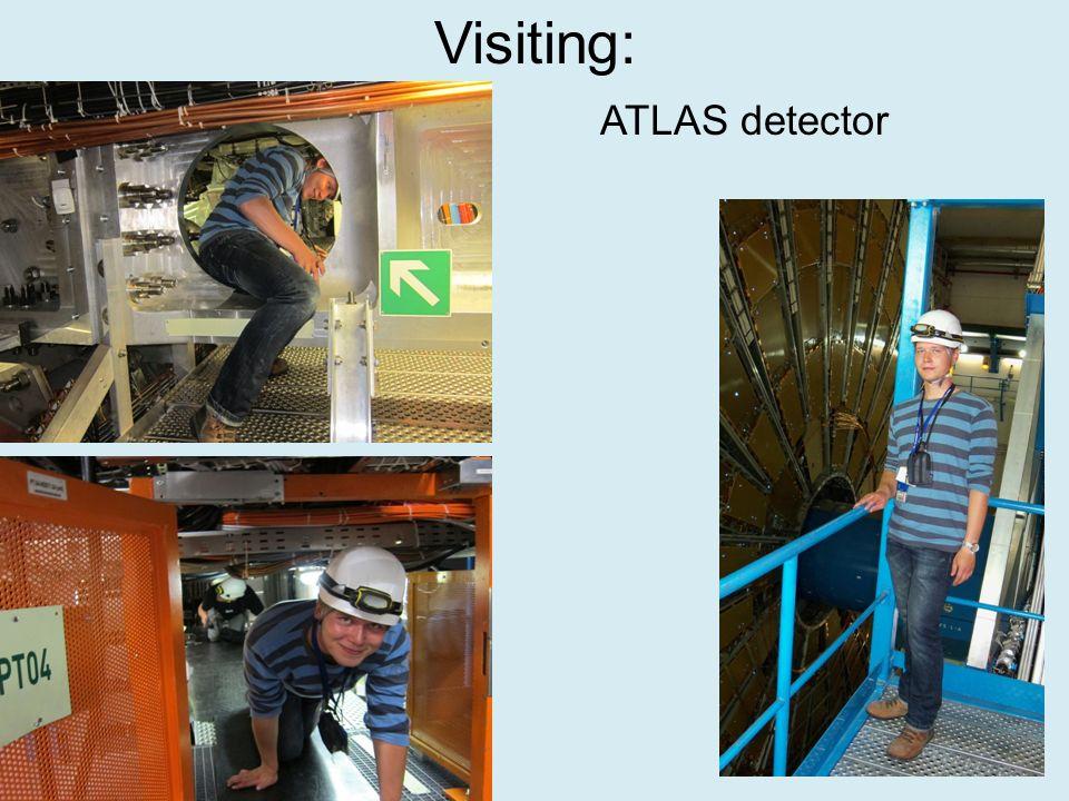 Visiting: ATLAS detector
