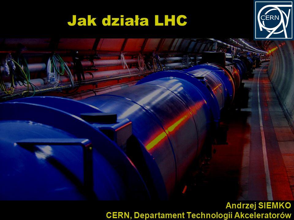 Andrzej SIEMKO CERN, Departament Technologii Akceleratorów