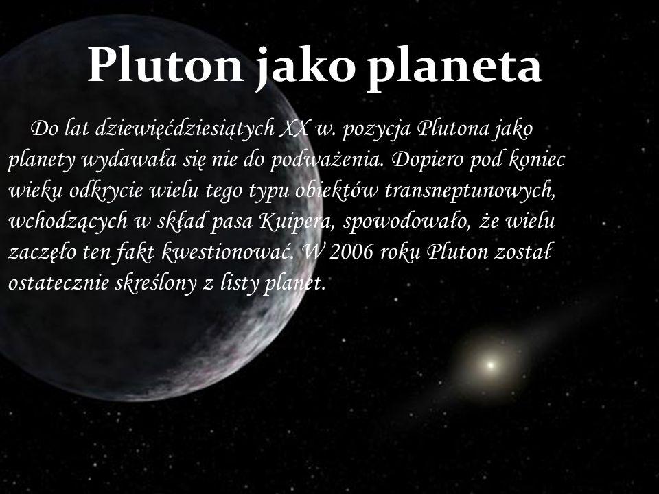 Pluton jako planeta