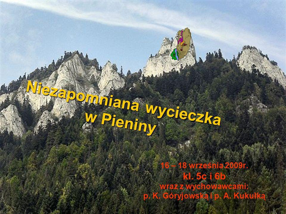 Niezapomniana wycieczka w Pieniny