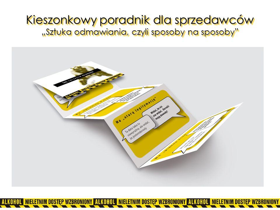 """Kieszonkowy poradnik dla sprzedawców """"Sztuka odmawiania, czyli sposoby na sposoby"""