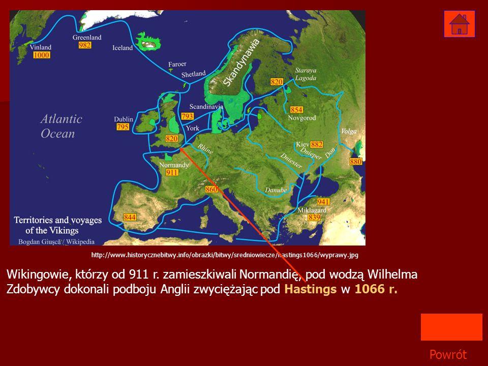 Skandynawia http://www.historycznebitwy.info/obrazki/bitwy/sredniowiecze/hastings1066/wyprawy.jpg.