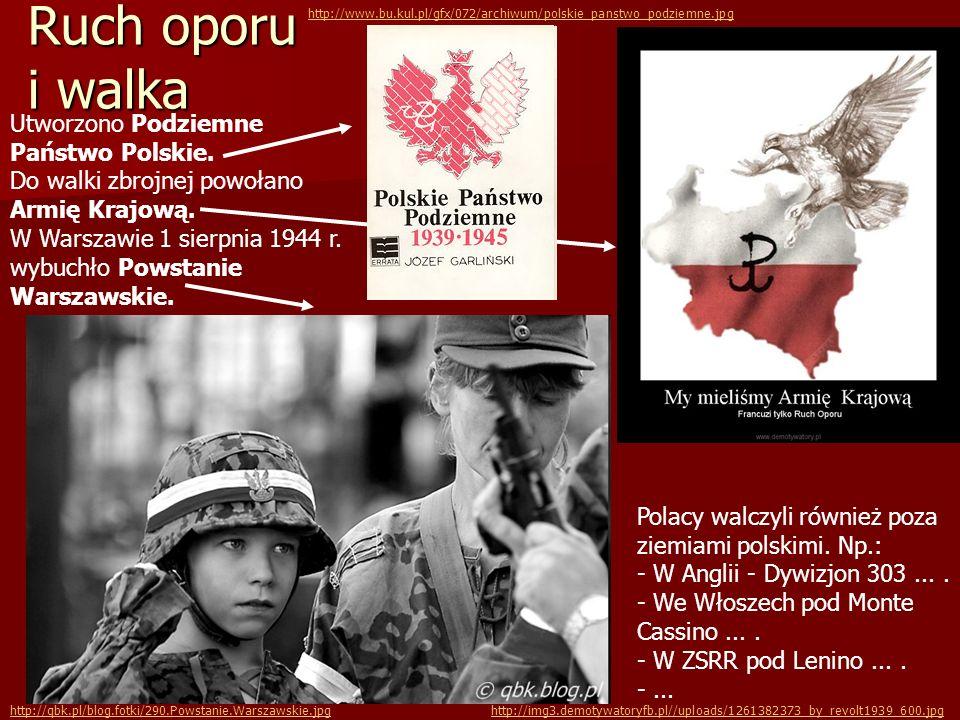 http://www.bu.kul.pl/gfx/072/archiwum/polskie_panstwo_podziemne.jpg Ruch oporu i walka.