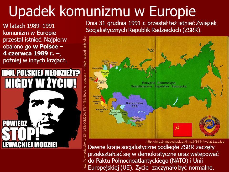 Upadek komunizmu w Europie