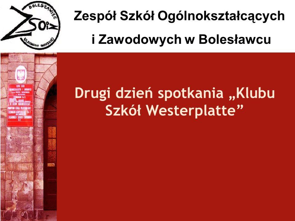 """Drugi dzień spotkania """"Klubu Szkół Westerplatte"""
