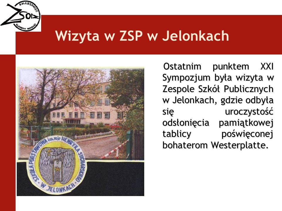 Wizyta w ZSP w Jelonkach