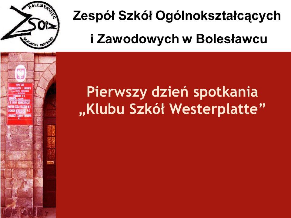 """Pierwszy dzień spotkania """"Klubu Szkół Westerplatte"""