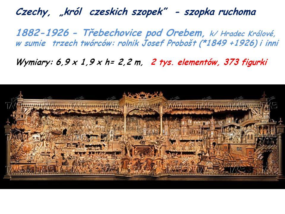 """Czechy, """"król czeskich szopek - szopka ruchoma"""