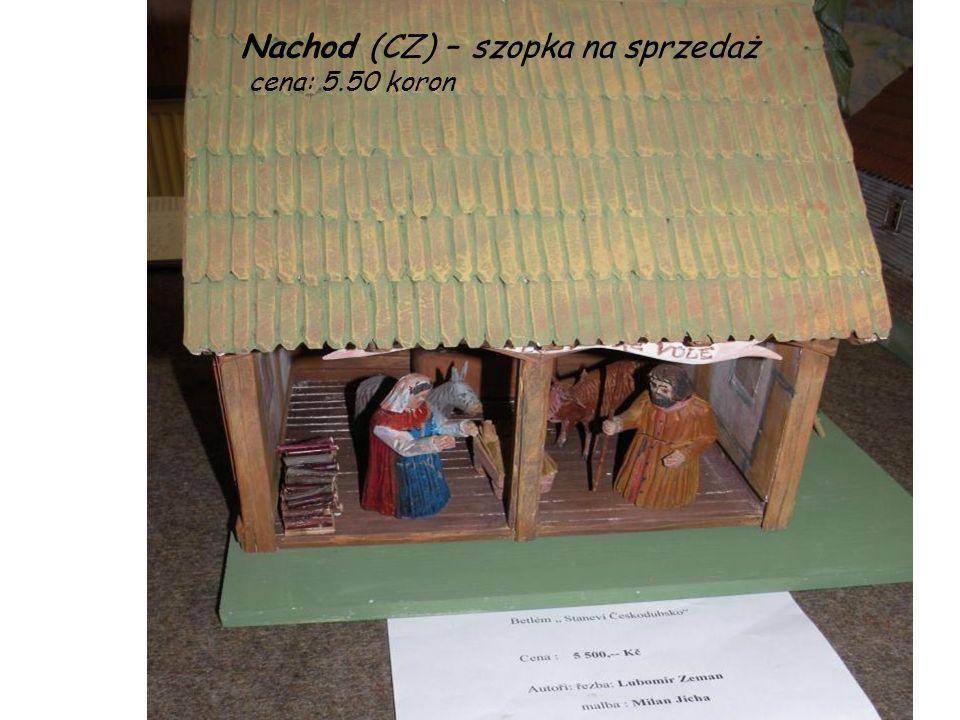 Nachod (CZ) – szopka na sprzedaż