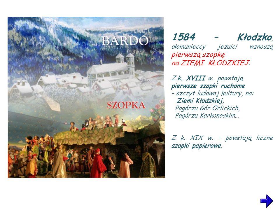 1584 – Kłodzko, ołomunieccy jezuici wznoszą pierwszą szopkę