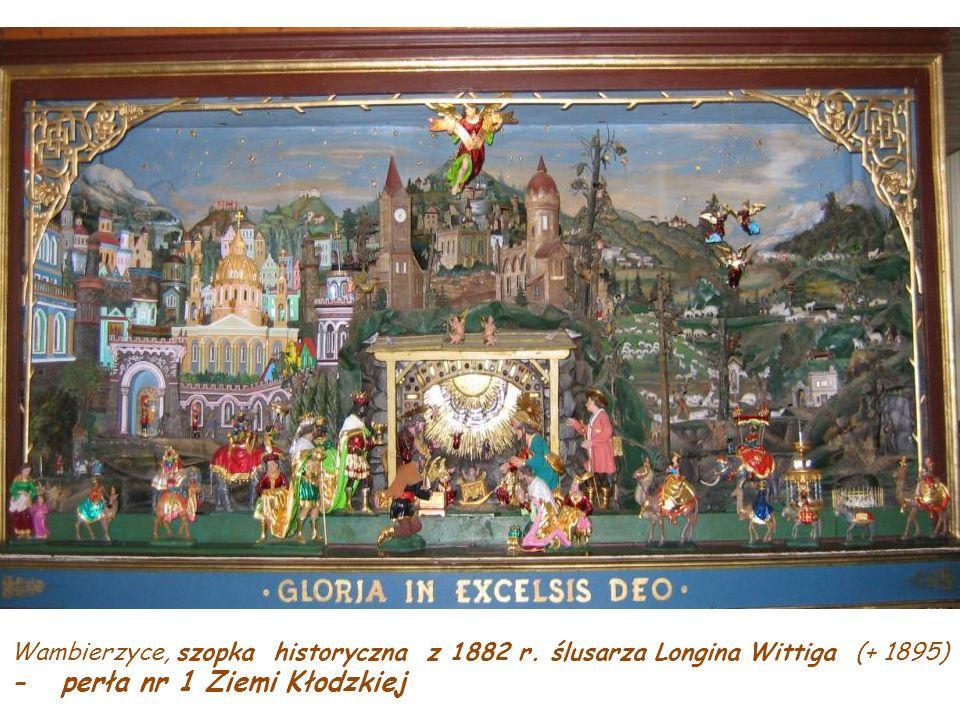 Wambierzyce, szopka historyczna z 1882 r