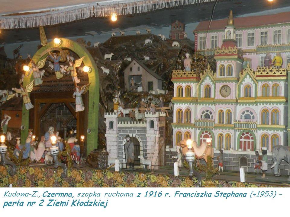 Kudowa-Z. , Czermna, szopka ruchoma z 1916 r
