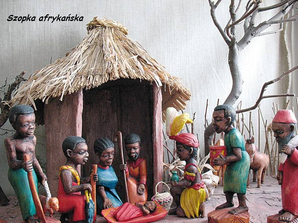 Szopka afrykańska