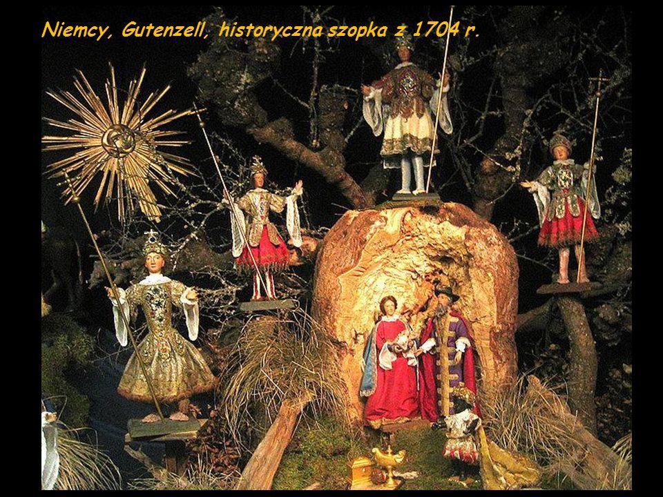 Niemcy, Gutenzell, historyczna szopka z 1704 r.