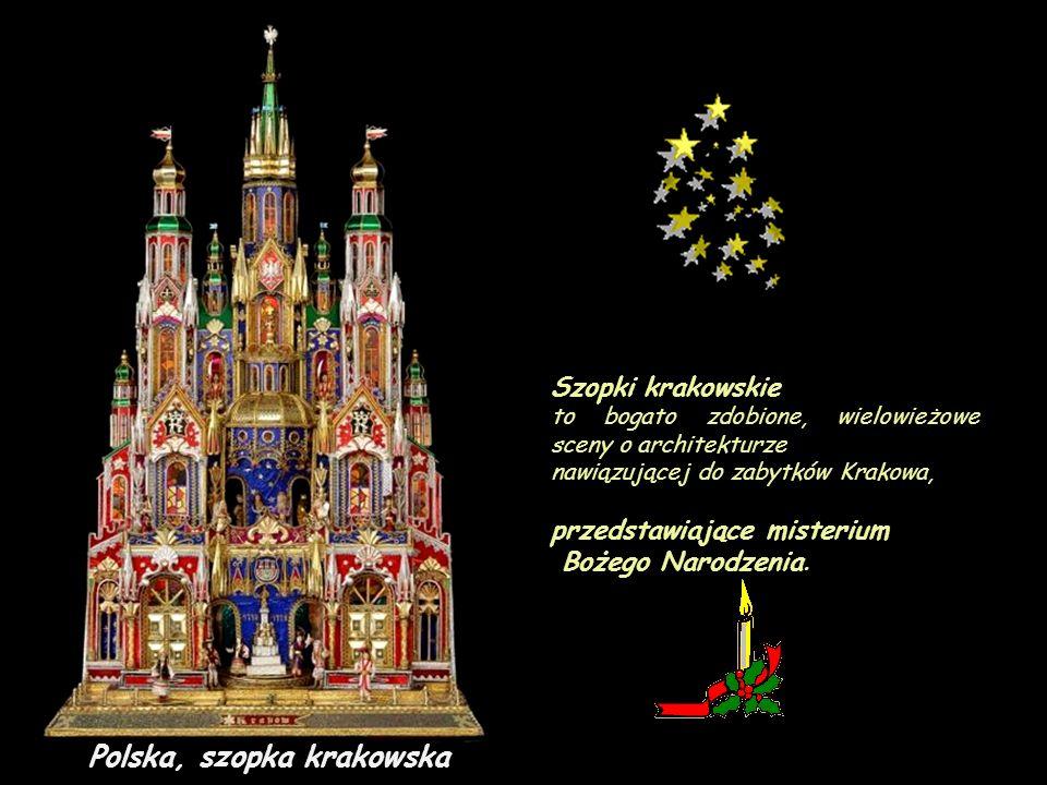 Polska, szopka krakowska
