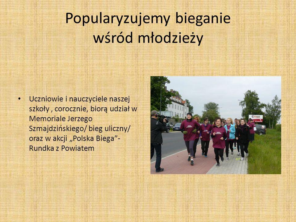 Popularyzujemy bieganie wśród młodzieży