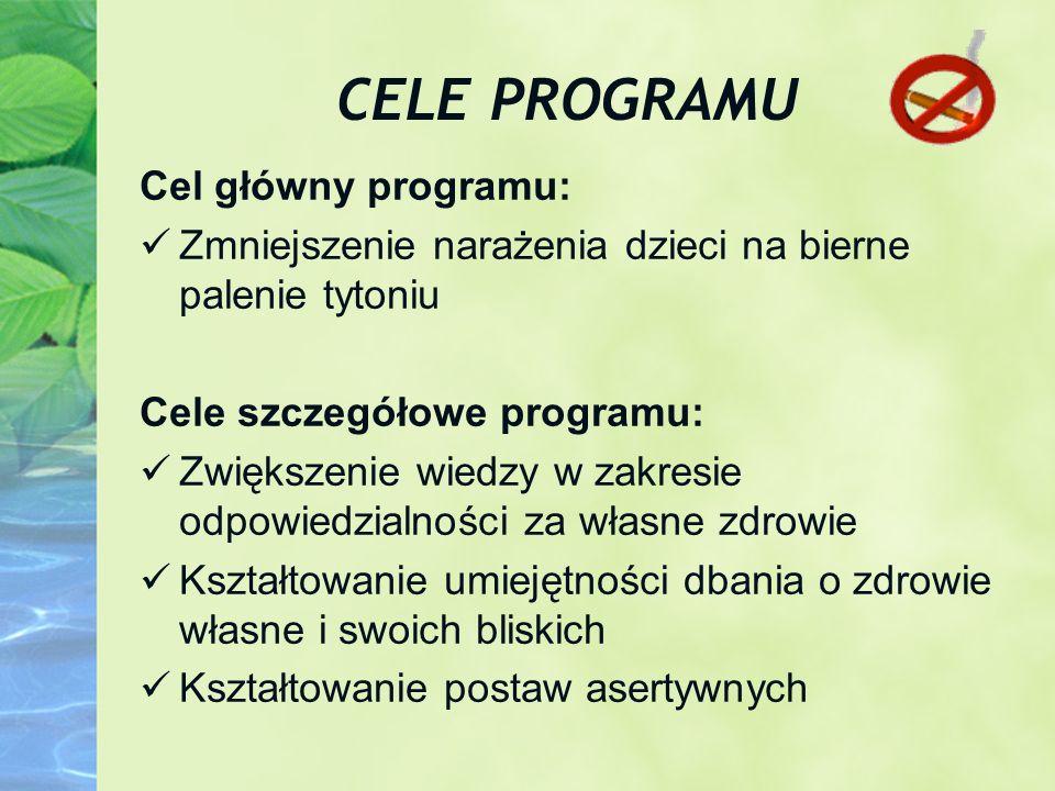 CELE PROGRAMU Cel główny programu: